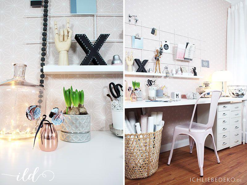 Arbeitszimmer-in-Pastelltönen