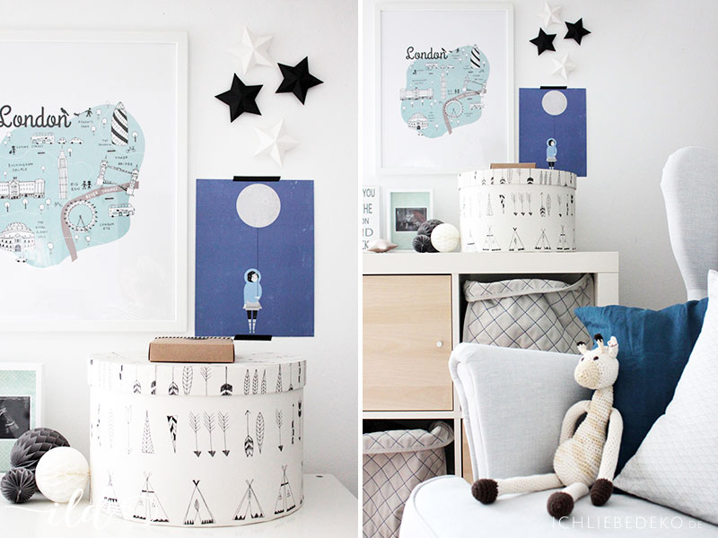 Aufbewahrungslösungen fürs IKEA Babyzimmer