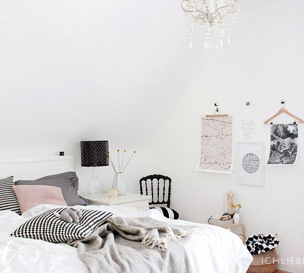 Schlafzimmerdeko Im Gem Tlichen Winterlook Ich Liebe Deko