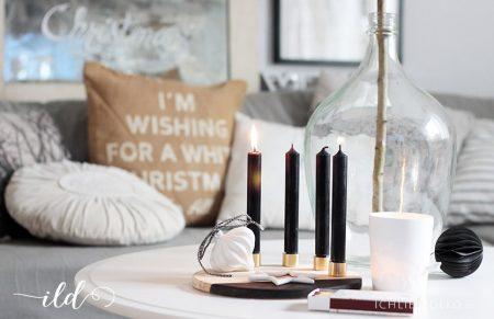 DIY Adventskranz & einen schönen 1. Advent