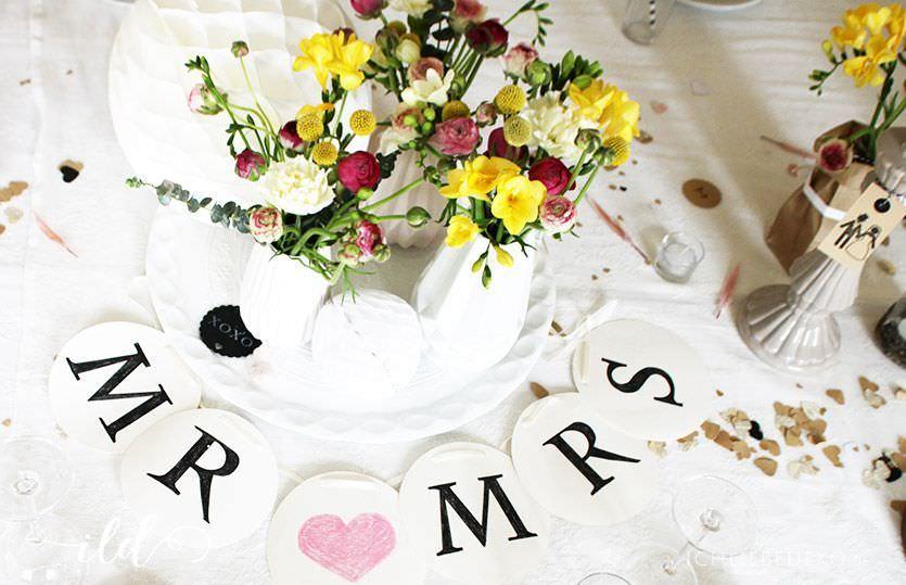 Vintage Hochzeitsdeko Fur Eine Ganz Besondere Hochzeit