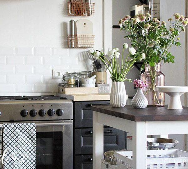 Kuchenruckwand grun m bel und heimat design inspiration - Fliesen skandinavischen stil ...