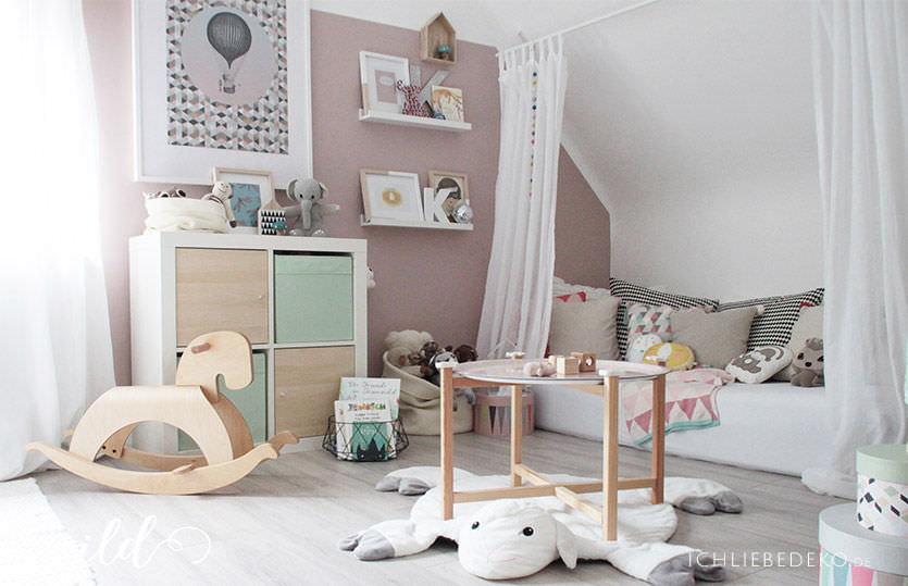 Merveilleux Kinderzimmerdeko In Der Kuschel Und Leseecke