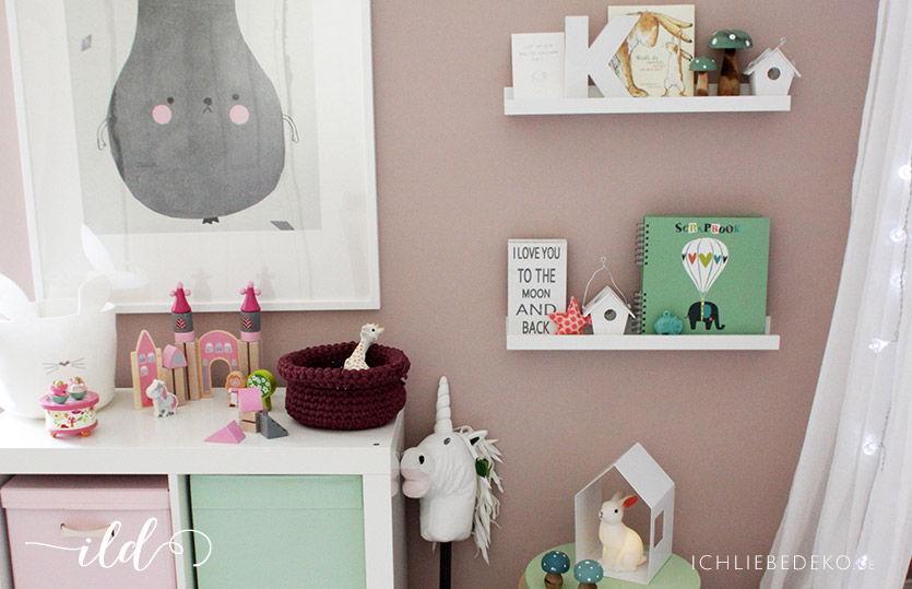 Kinderzimmerdeko In Pastellfarben Ich Liebe Deko