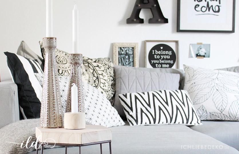 Wohnzimmer in neuem look mit modernem beistelltisch ich for Deko beistelltisch