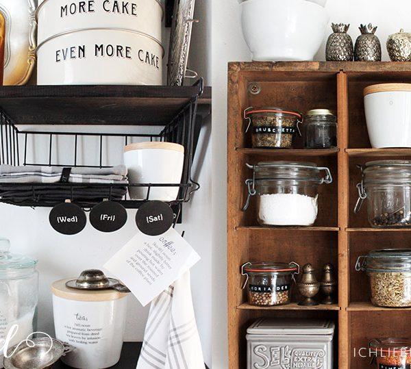 Neue Kaffeeecke In Der Küche • Ich Liebe Deko