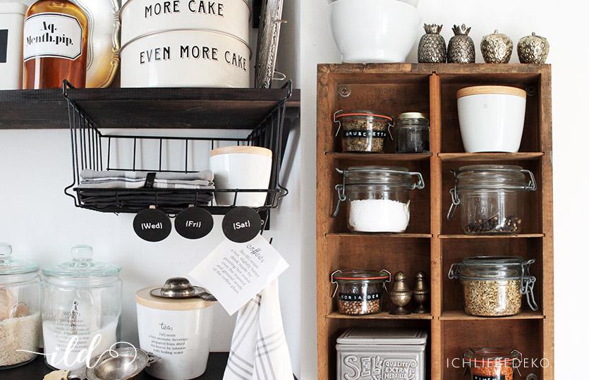 Top 5 Tipps für mehr Ordnung in der Küche • Ich Liebe Deko