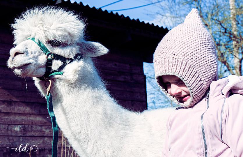 Momlife: ein ungeplanter Mama-Tag mit Alpakas statt Schnee
