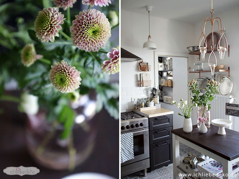 Blumen-in-der-Küche