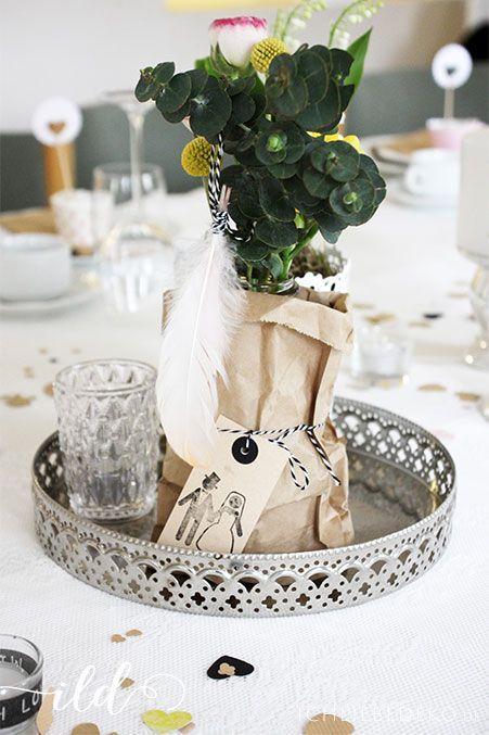Brottüten-als-Hochzeitsdekoration