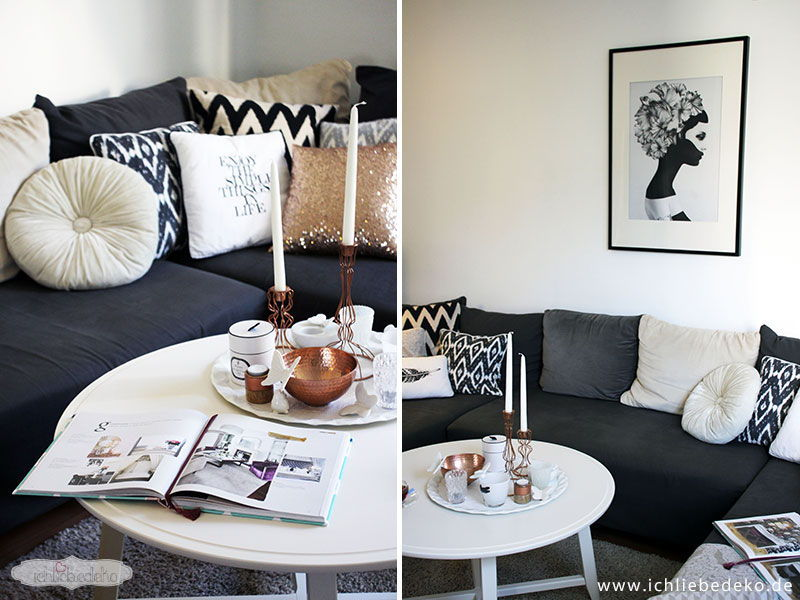 Inspiration zur wohnzimmerdeko das gro e buch der for Deko inspiration