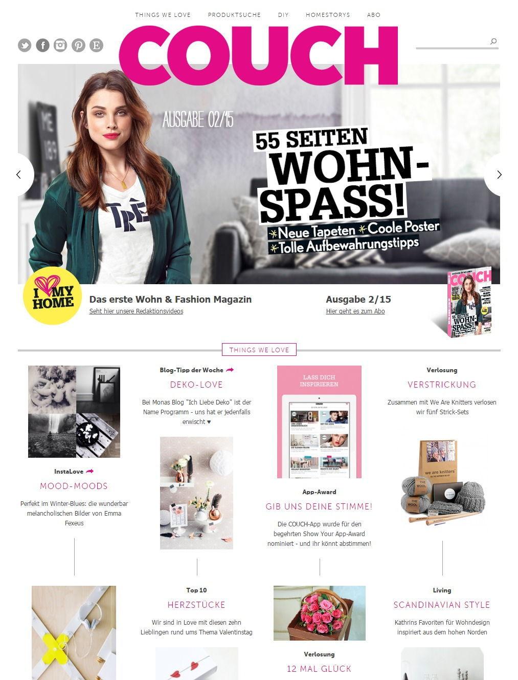 presse referenzen ich liebe deko. Black Bedroom Furniture Sets. Home Design Ideas