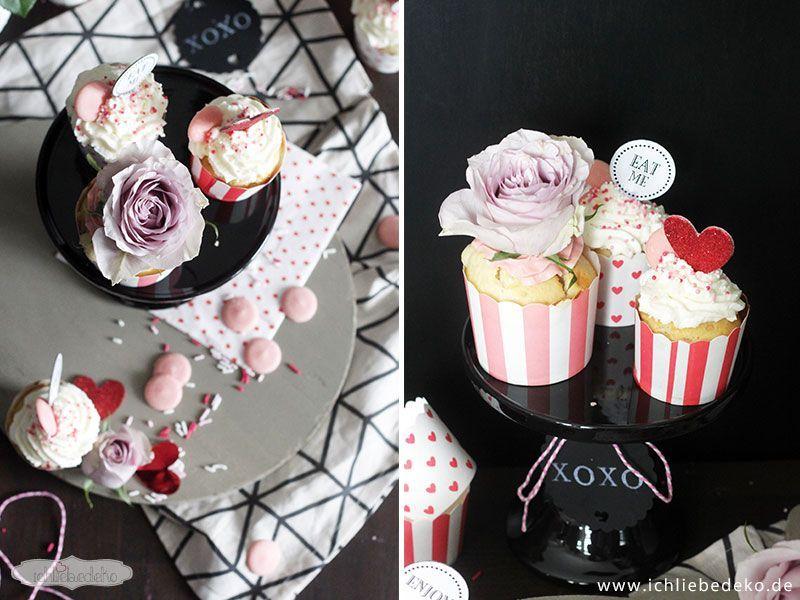 Cupcakes-mit-Rosen