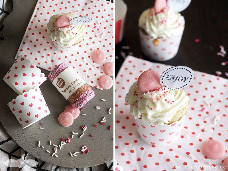 Cupcakes-mit-Zitronentopping