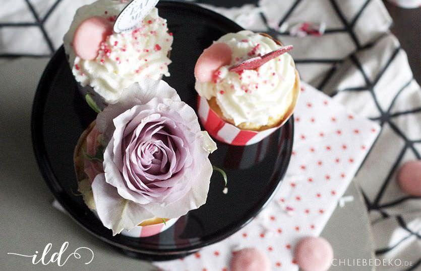 Schnelle Cupcakes Zum Valentinstag Ich Liebe Deko