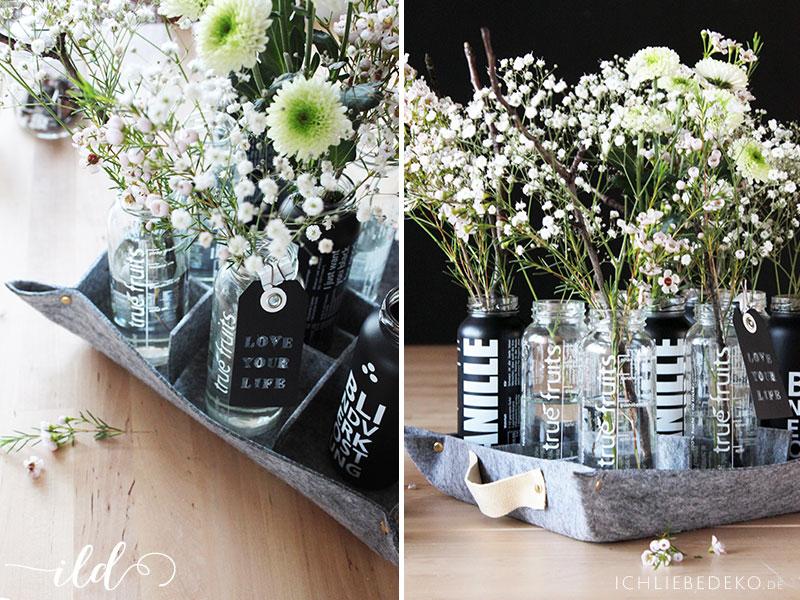 DIY-Tablett-aus-Filz-mit-Smootieflaschen-als-Vasen