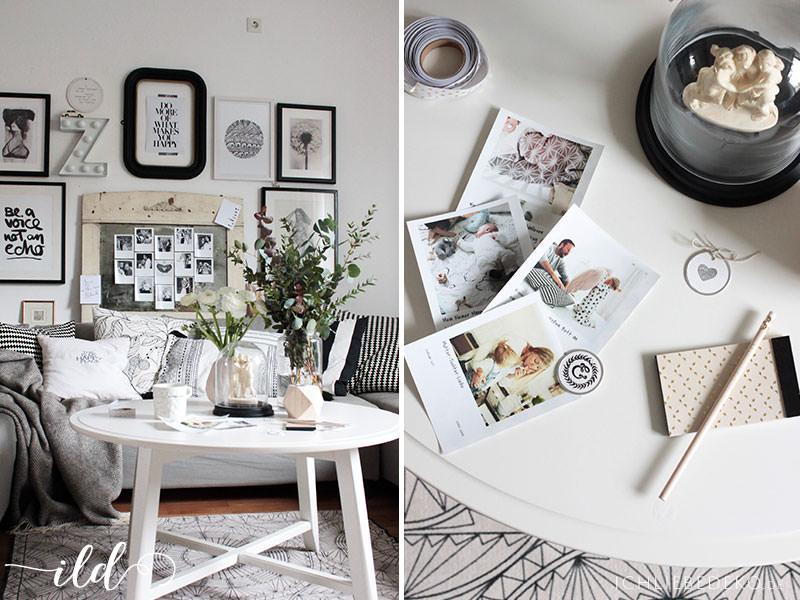 Deko-mit-Fotos-im-Wohnzimmer