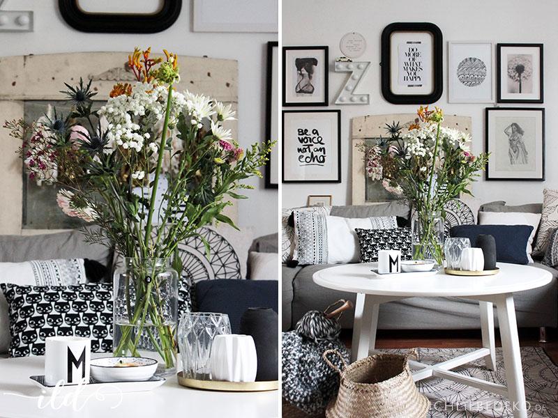 Meine Trends 2017 für ein Wohnzimmer im Vintage-Boho-Look ...