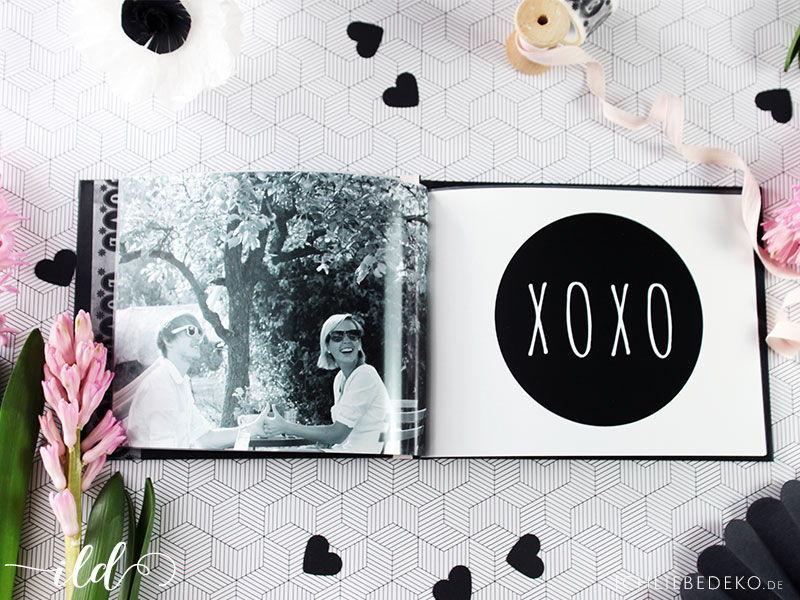 Bastelidee: Fotobuch als Valentinstags-Geschenk