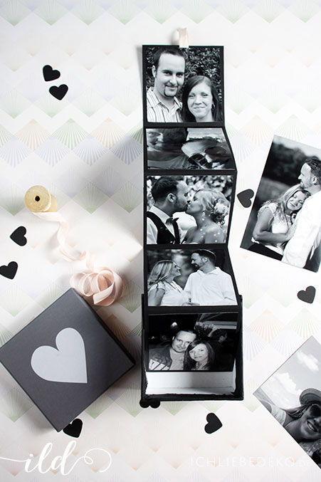 Diy Fotogeschenke Zum Valentinstag Ich Liebe Deko