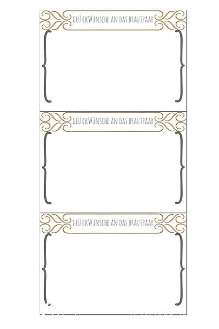 Gästebuchkarten