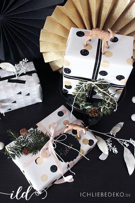 Geschenke-für-Weihnacten-schön-verpackt