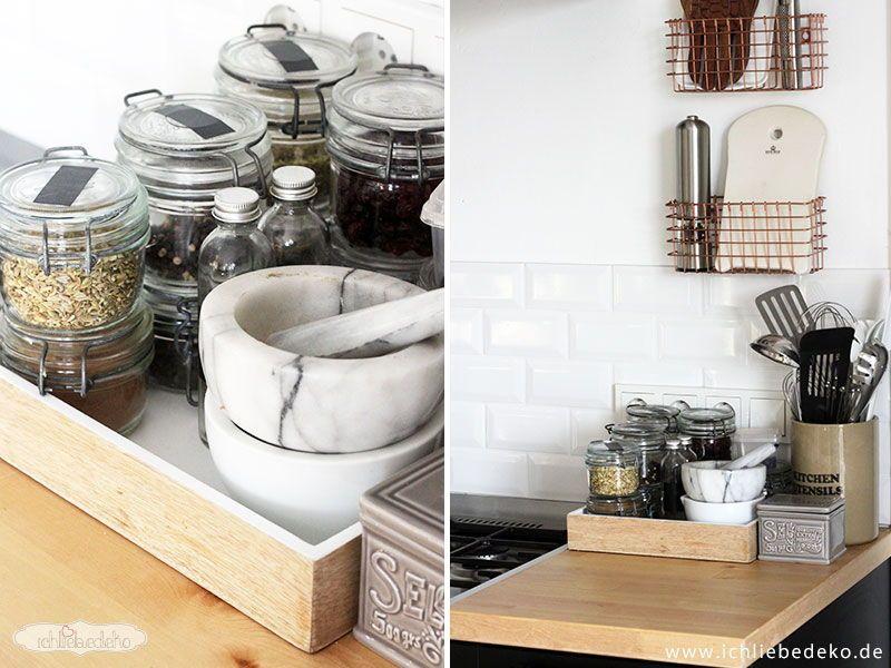 Gewürzaufbewahrung neue küche im skandinavischen stil ich liebe deko