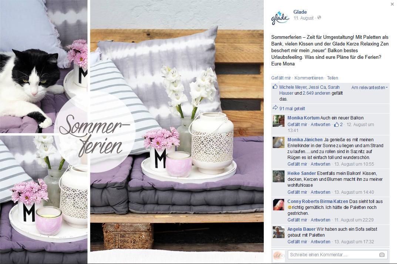 Glade-Facebook