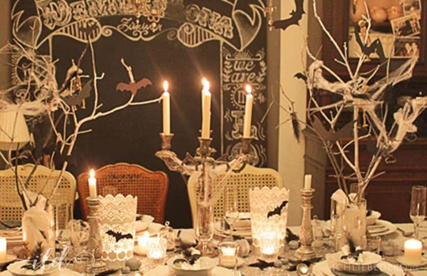 halloweendekoration sch ne stunden ich liebe deko. Black Bedroom Furniture Sets. Home Design Ideas