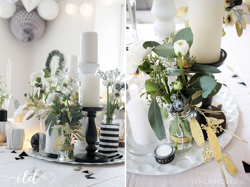 Hochzeitsdeko-in-Schwarz-Weiß-Gold