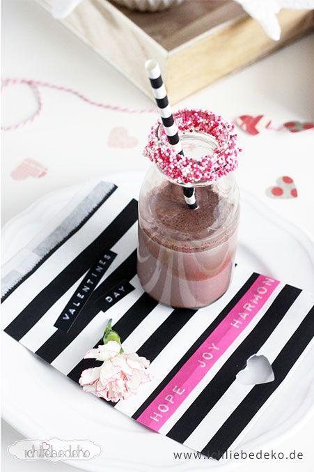 Kakao-im-Glasfläschchen