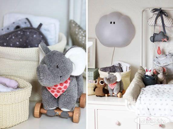 Kinderzimmerdeko-Elefant