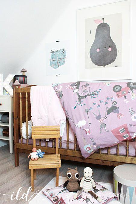 Kinderzimmerdeko-in-Pastellfarben