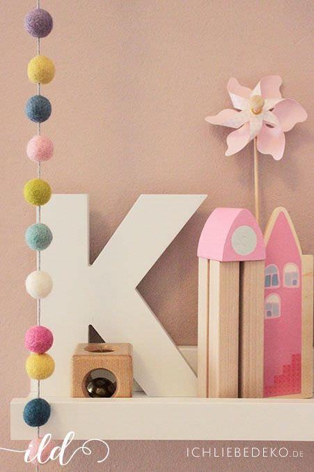 Kinderzimmerdeko-in-Pastelltönen