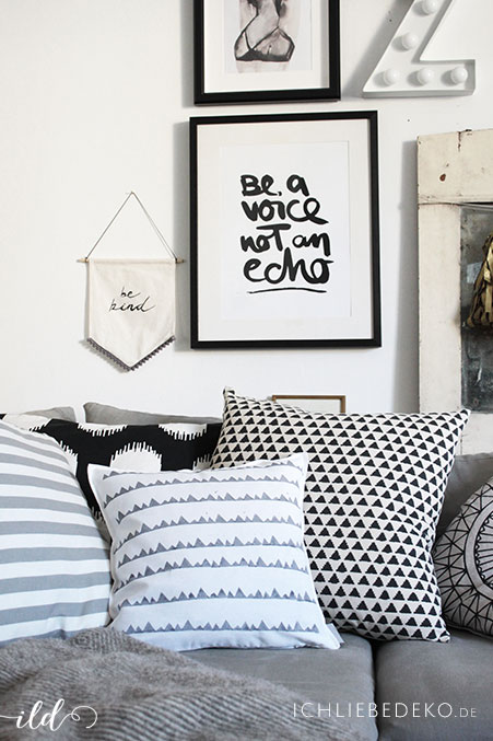 Kissen-mit-DIY-Print-im-modernen-skandinavischen-Stil
