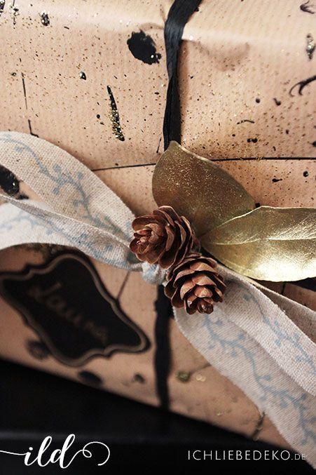 Kreative-Geschenkverpackung-mit-Naturmaterialien