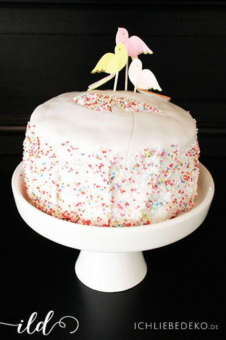Kuchen-zum-Mädchengeburtstag