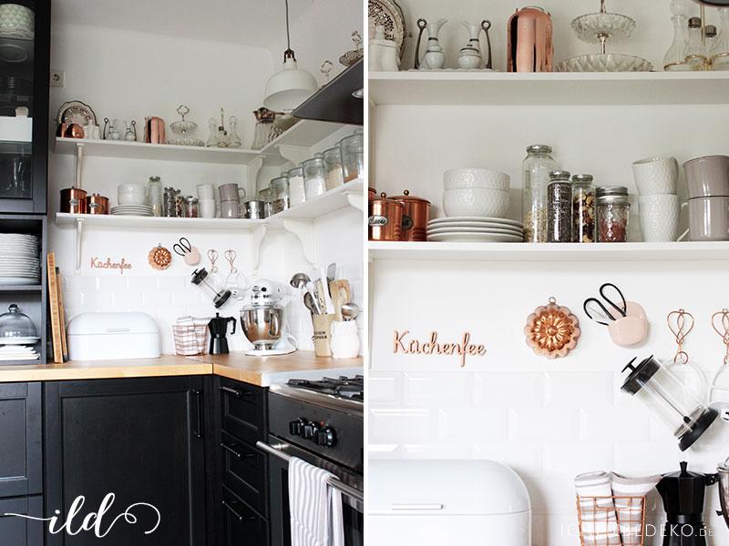 Küche-im-nordischen-Schwarz-Weiß-Look
