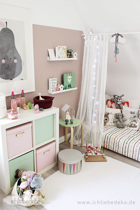 kinderzimmer dekoration rosa. Black Bedroom Furniture Sets. Home Design Ideas