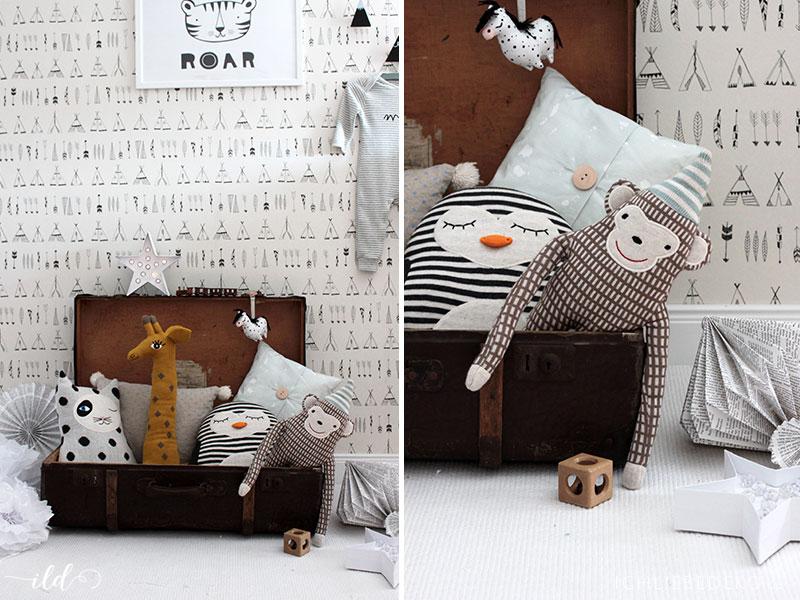 Stylische kuscheltiere neue spiel kuschelzone im babyzimmer ich liebe deko - Stylische babyzimmer ...
