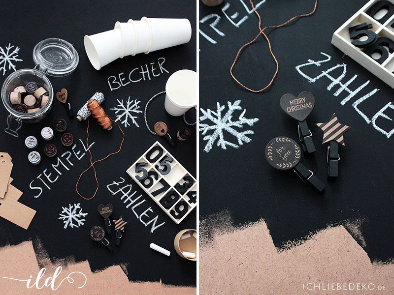 Material-DIY-Adventskalender
