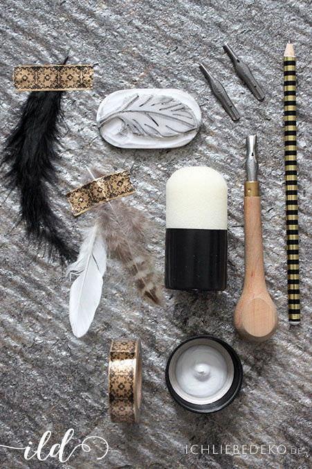 Material-DIY-Stempel