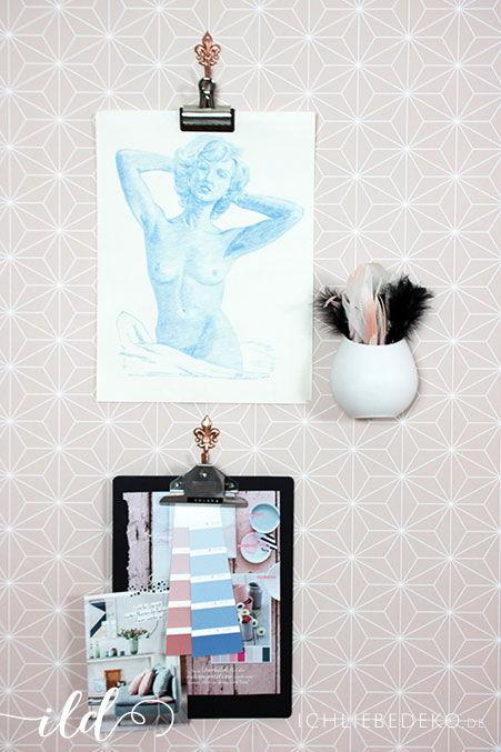 Moodboard-Pantone-Farben-Rosequarz-und-Serenity