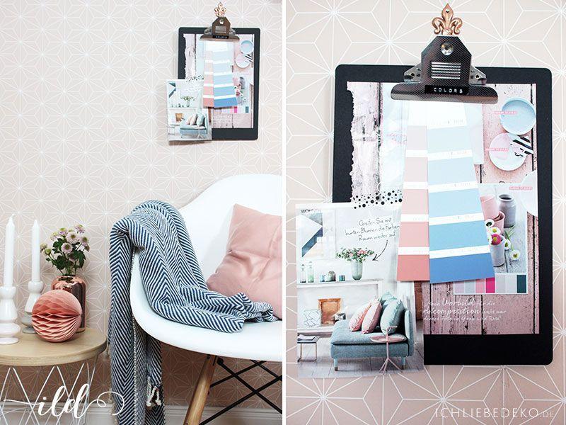 arbeitszimmerdeko in den pantone farben des jahres 2016 ich liebe deko. Black Bedroom Furniture Sets. Home Design Ideas