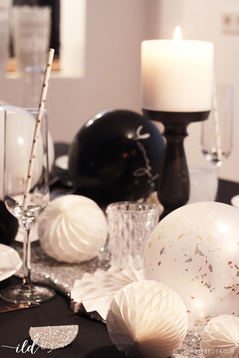 Partydeko-für-Silvester