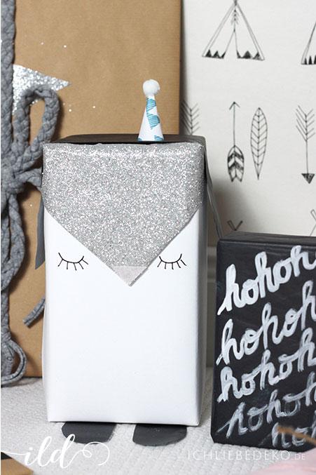 pinguin-geschenkverpackung