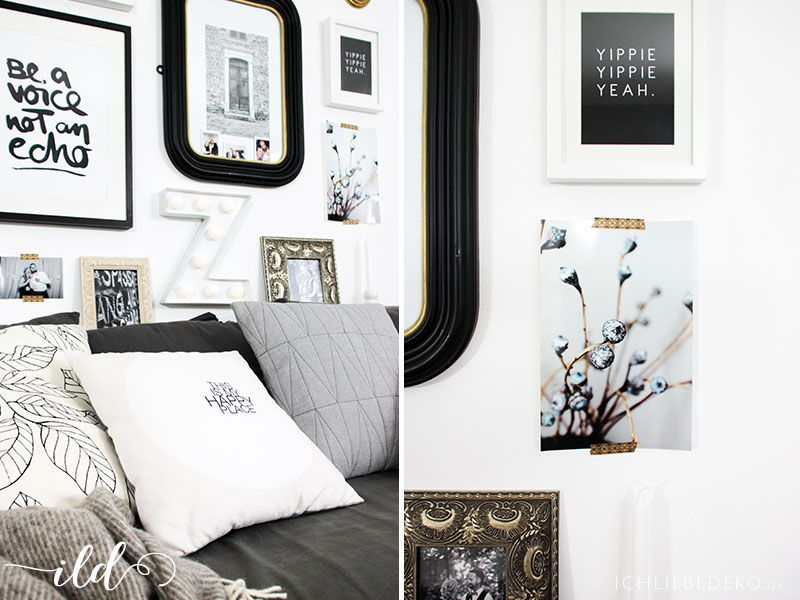 Private Bildergalerie Im Wohnzimmer