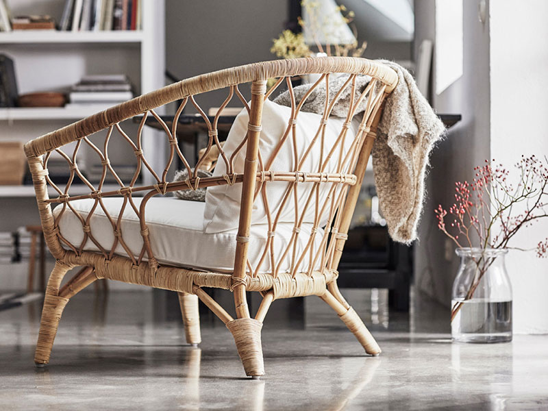 Rattan-Möbel-Ikea-Stockholm-Kollektion