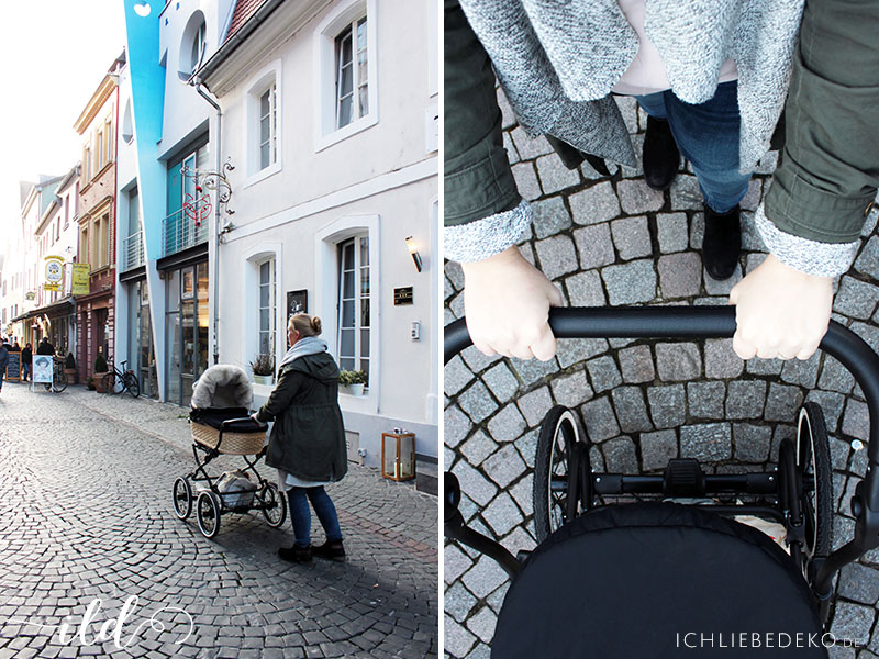 Retro-Kinderwagen
