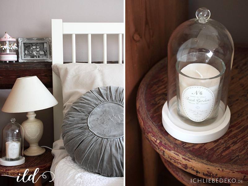 Romatische-Schlafzimmerdeko